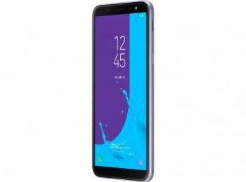 Smartphone Samsung Galaxy J6 32GB Prata - Dual Chip 4G Câm. 13MP + Selfie 8MP Flash Prata2