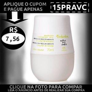 Desodorante Roll-on Lima e Flor de Laranjeira - Baixou Tudo Natura Cupom 15PRAVC 1200x1200