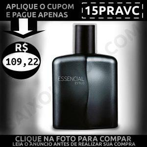 Essencial Estilo Masculino - Baixou Tudo Natura Cupom 15PRAVC 1200x1200