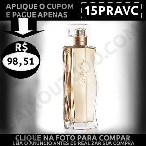 Essencial Feminino - Baixou Tudo Natura Cupom 15PRAVC 1200x1200
